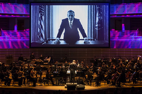Frost Orchestra performs a homage to House of Cards